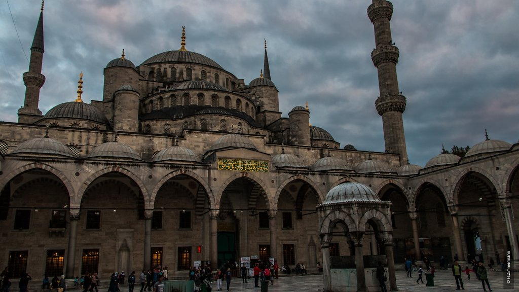Istanbul - Blaue Moschee