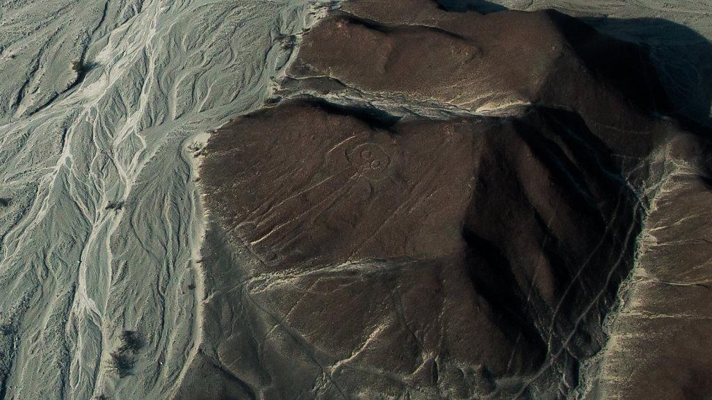 Nasca-Linien, der Astronaut (Nasca lines - the astronaut), Peru,