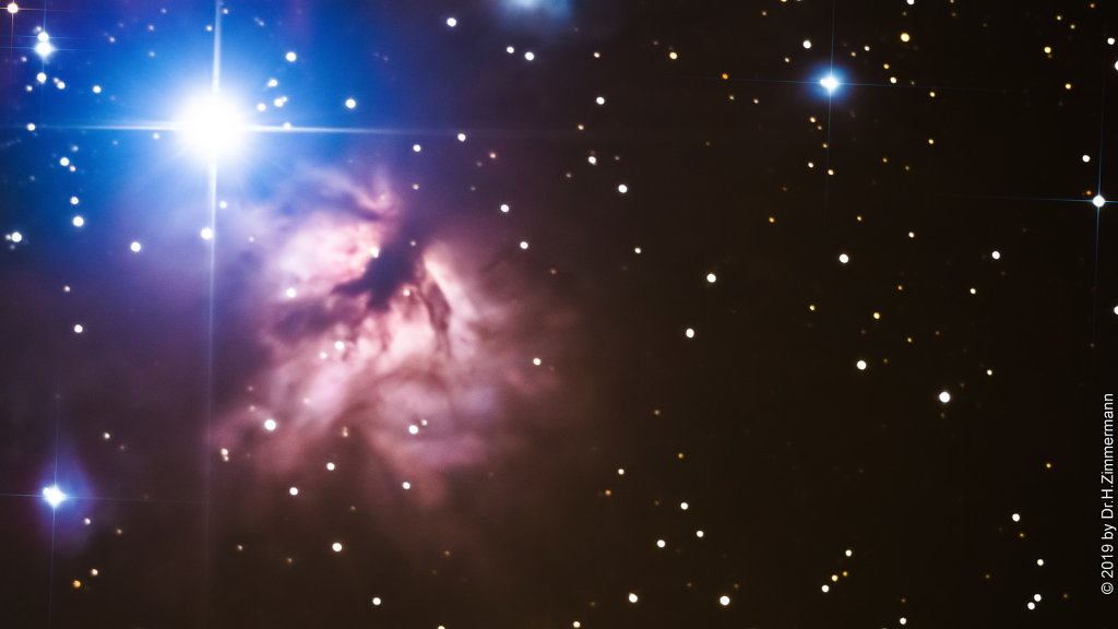 NGC 2024 - Trifid Nebula